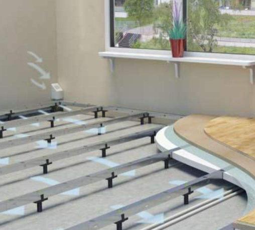 成都电地暖安装流程